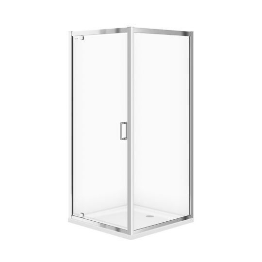 Cabina dus patrata Cersanit Arteco sticla transparenta 90x90x190 cm