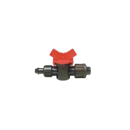 Mini robinet banda picurare conector 17 mm