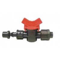 Mini robinet banda picurare conector garnitura guler 17 mm