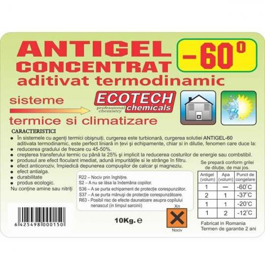 Antigel ECOTECH centrale termice -60C - 10 kg