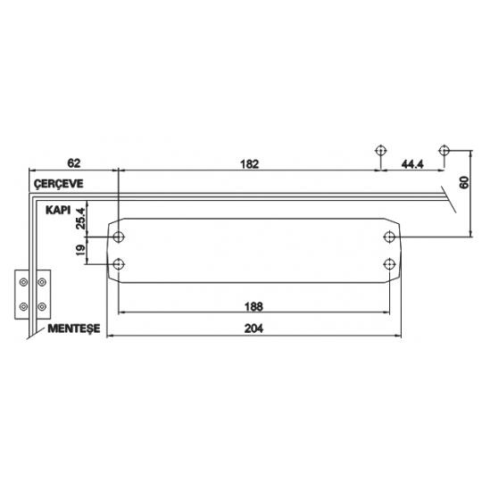 Amortizor usa 20-45 kg Kale 220 Standard