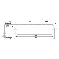 Amortizor usa 60-85 kg Kale 440 Standard