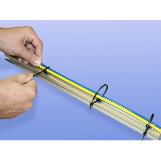 Bride cabluri 150X2.5mm -100 buc Joka Negru