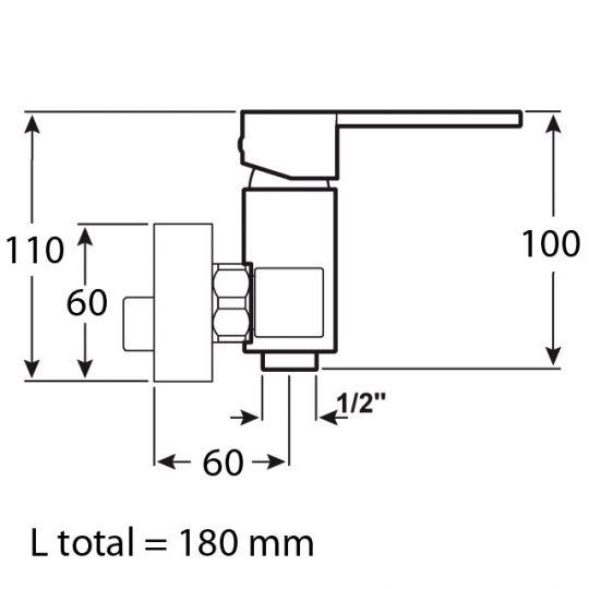 Baterie dus set Qualitat Pro, alama Cleanmann