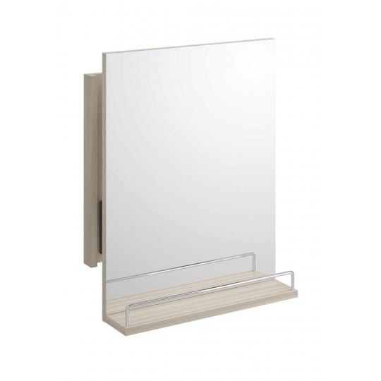 Oglinda rabatabila cu raft Cersanit Smart