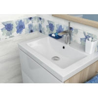 Dulap de baie alb Cersanit Smart pentru lavoar Carina 60 Cersanit