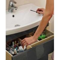 Dulap de baie alb Cersanit Smart pentru lavoar Como/Nature/City/Fare/Colour/Ontario 50