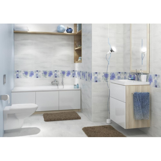 Dulap de baie alb Cersanit Smart pentru lavoar Como 80 / Amao 80 / Zuro 80 / Fare 80 Cersanit