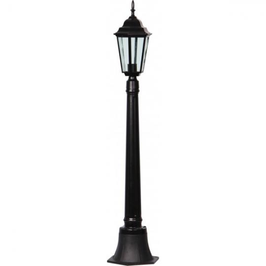 Lampa de gradina Elegance Negru 1xE27, 60W, 120 cm