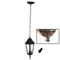 Lampa de gradina Elegance Antic 1xE27, 60W, prindere tavan