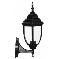 Lampa de gradina Elegance Round Negru 1xE27, 60W, prindere perete