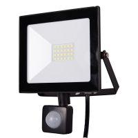 Proiector LED cu senzor, 20W, lumina rece Homelight