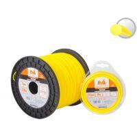 Fir Nylon pentru Coase/Trimmer, Grosime 3.0 mm, Lungime 15 m, Profil Rotund, EvoTools
