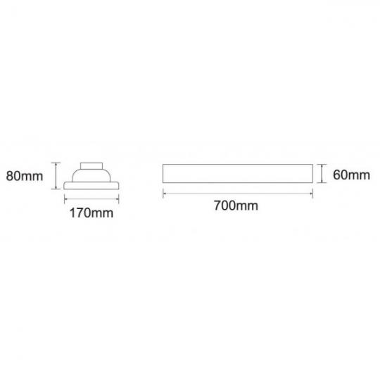 Lampa de gradina Green Transparent 1xE27, 40W, 90 cm