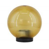 Glob policarbonat pentru lampi gradina seria Luca, 1x E27, max 40W D 200 mm