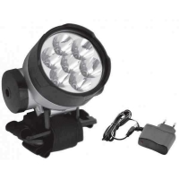 Lampa de frunte 7 LED Total Green