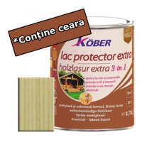 Lac protector Extra 3 in 1 incolor 4 L Kober
