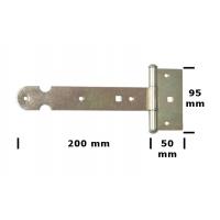 Balama poarta tip T 200x2 mm Everpro