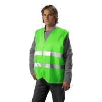 Vesta reflectorizanta Verde XXXL
