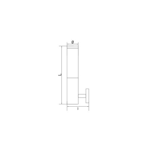 Lampa de gradina T&G Basic 1xE27, 60W, 33 cm