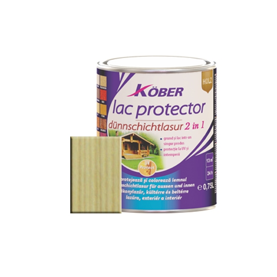 Lac protector 2 in 1 incolor 0.75 l Kober