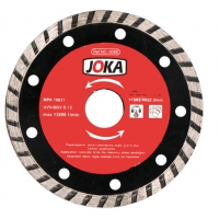 Disc diamantat Turbo 125x22.2 mm continuu Joka