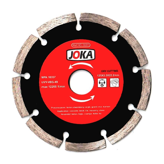 Disc diamantat Dry 230x22.2 mm Joka