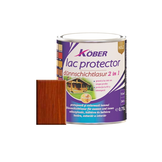 Lac protector 2 in 1 teak 0,75 l Kober