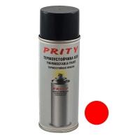 Vopsea termorezistenta 600 C Prity 430 ml Rosu