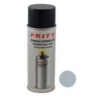 Vopsea termorezistenta 600 C Prity 430 ml Argintiu mat