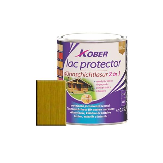 Lac protector 2 in 1 stejar inchis 0,75 l Kober