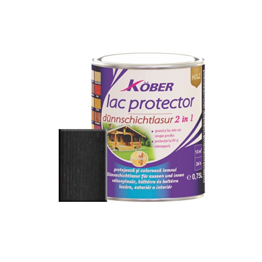 Lac protector 2 in 1 wenge 0,75 l Kober