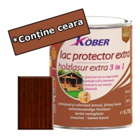 Lac protector Extra 3 in 1 palisandru 0,75 l Kober