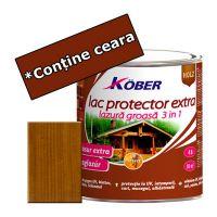 Lac protector Extra 3 in 1 stejar inchis 4 L Kober