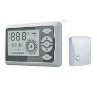Termostat de ambient programabil wireless Everline
