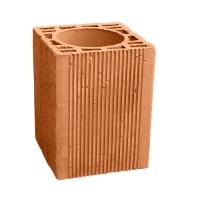 Caramida ceramica pentru cos de fum 130 mm, inaltime 250 mm