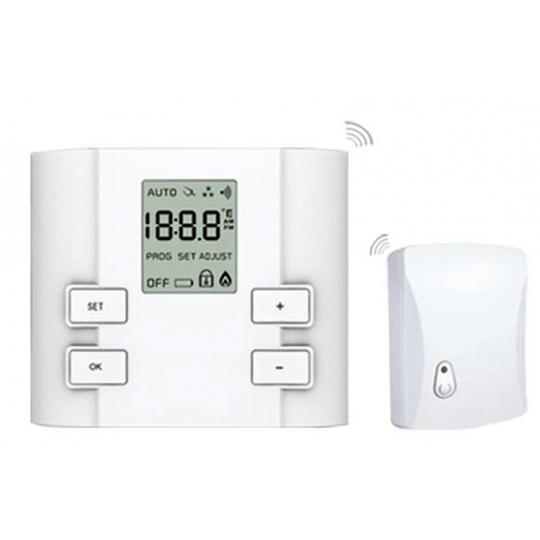 Termostat de ambient neprogramabil fara fir (wireless) Everline