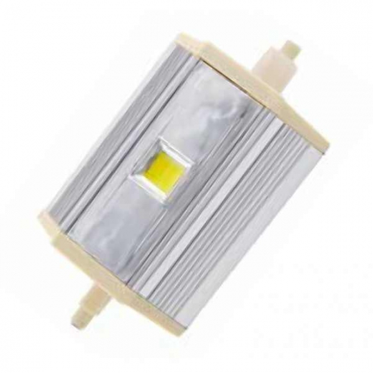 Bec proiector LED COB 8W, 118 mm