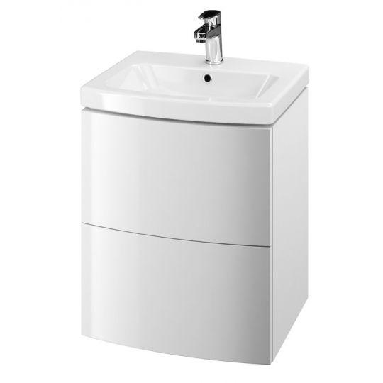 Dulap de baie alb Cersanit Easy pentru lavoar Easy 50