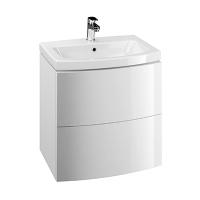 Dulap de baie alb Cersanit Easy pentru lavoar Easy 60