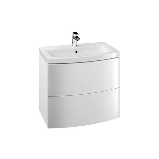 Dulap de baie alb Cersanit Easy pentru lavoar Easy 70