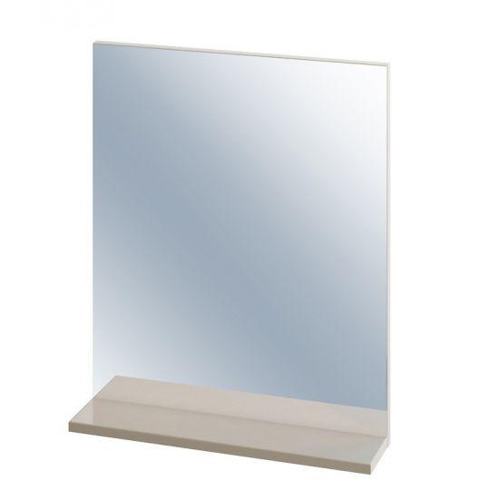 Oglinda cu raft capucino Cersanit Easy
