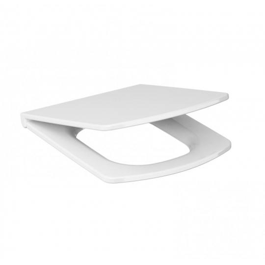 Capac WC Easy Duroplast cu cadere lenta si demontare rapida Cersanit (universal)