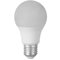 Bec LED 5W, sferic, E27, lumina calda 3000K, Novelite