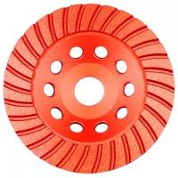 Disc cupa diamantat slefuit beton/piatra 125x22.2 mm Turbo Joka