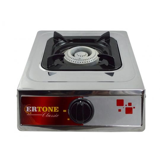Aragaz inox 1 arzator Ertone
