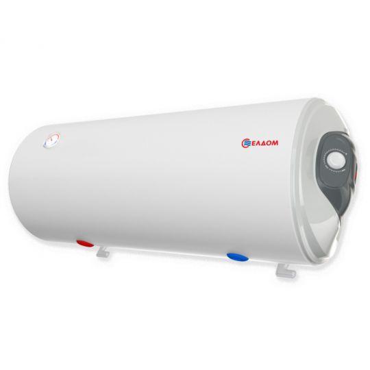 Boiler mixt cu serpentina Eldom , capacitate 120 l, 3 kW, orizontal