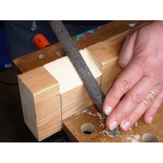 Raspila lemn semirotunda lemn 20 cm Evo