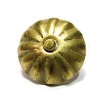 Cuie tapiterie decorative Gold Flower D20x19 - 100 buc