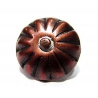 Cuie tapiterie decorative Copper Flower D20x19 - 100 buc